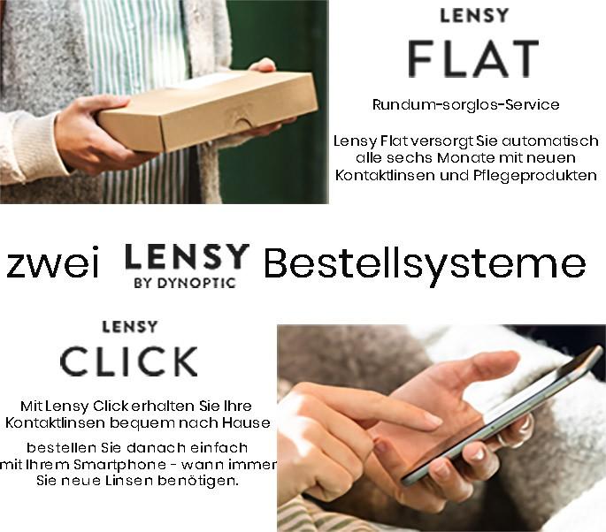 Lensy Flat Click Kontaktlinsen
