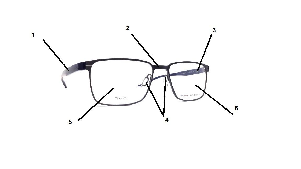Metall brille Reperatur Service