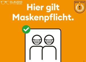 Maskenpflicht (Schutzkonzept)